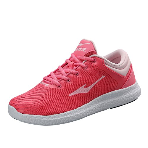 Erke Women's Sport Sneaker Light Fashion Shoes Pink/White 52116103055