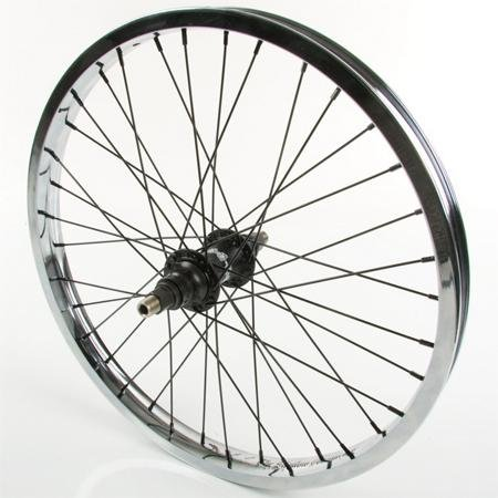 The Shadow Conspiracy Stun Rear BMX Bike Wheel - 36H 9T - Chrome Rim
