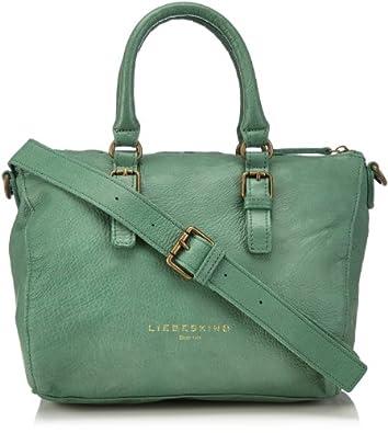 Liebeskind Berlin Womens LiselotteC Handbag Green Grün (green green/ vintage) Size: 36x26x19 cm (B x H x T)