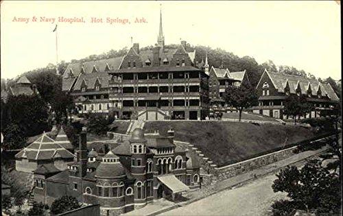 Army & Navy Hospital Hot Springs, Arkansas Original Vintage Postcard