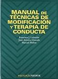 img - for Manual de tecnicas de modificacion y terapia de conducta (COLECCION PSICOLOGIA) (Psicologia / Psychology) (Spanish Edition) book / textbook / text book
