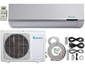 18 000 btu klimaire 13 seer ductless mini. Black Bedroom Furniture Sets. Home Design Ideas