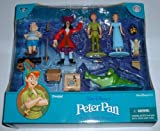 515OKCosjHL. SL160  Walt Disneys Peter Pan Collectible Figure Set