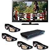 515OKsxpxuL. SL160  LG 55LX6500 55 Inch HDTV 3D Bundle With Blu ray Player And 3D Glasses   $2,246 After Instant Savings