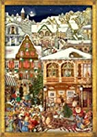 Victorian Christmas Village German Advent Calendar by Sellmer Verlag