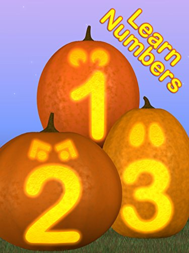 Learn Numbers with Funny and Spooky Pumpkins