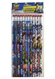 Disney Toy Story Pencil Set - 12pcs Wood Pencils