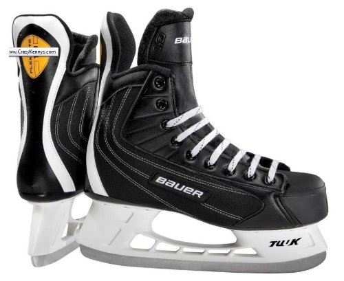 Bauer Flexlite 1.0 Ice Hockey Skates Senior Size 7