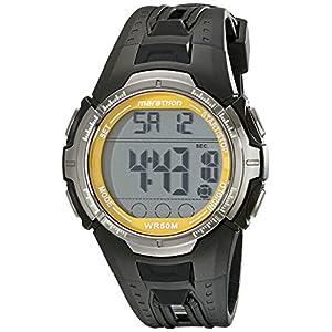 Timex Men's T5K803M6 Marathon Watch with Black Resin Band