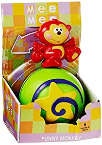 Mee Mee Mee Mee Funny Monkey, Multi Color