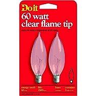 Do it Bent Tip Decorative Light Bulb-60W CLR BENT TIP BULB