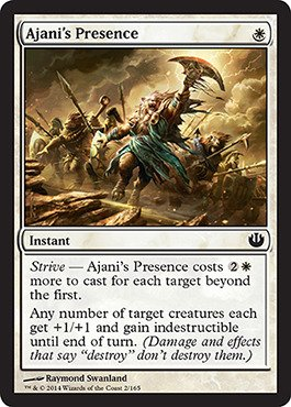 Magic: the Gathering - Ajani's Presence (2/165) - Journey into Nyx - Foil - 1