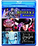 Triple Feature (Beetlejuice / Charlie and the Chocolate Factory / Corpse Bride) [Blu-ray] (Bilingual)