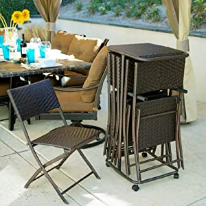 Sale Rst Outdoor Perfect Folding Chair Six Pack Patio Furniture By Rst Outdoor Model Op Pefcs6t