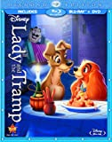 515OXsZsGJL. SL160  Lady and the Tramp (Diamond Edition Two Disc Blu ray/DVD Combo in Blu ray Packaging)