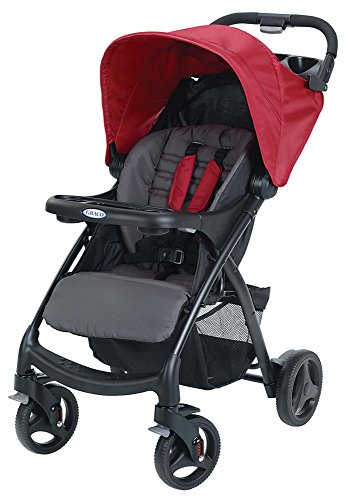 Buy Cheap Graco Verb Click Connect Stroller, Chili Red