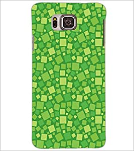 PrintDhaba Pattern D-5485 Back Case Cover for SAMSUNG GALAXY ALPHA (Multi-Coloured)