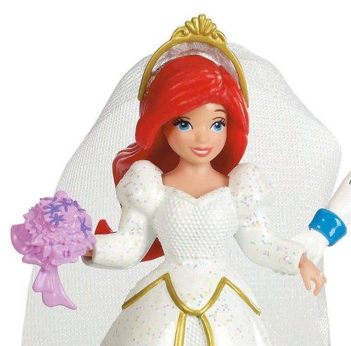 Multi-Color Disney Ariel Princess Bridal Ring Set 14k ... |Disney Princess Wedding Set