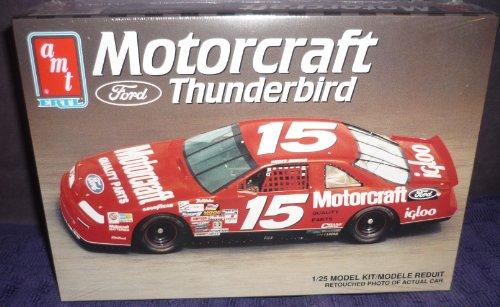 #6162 AMT Geoff Bodine #15 Motorcraft Thunderbird 1/25 Scale Plastic Model Kit by AMT Ertl