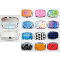 Light Up Led Pill Box Medicine Drug Container Case Holder Pillbox Tablet Gift !!