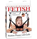 Pipedream Products Fetish Fantasy Series Position Master with Cuffs, Black
