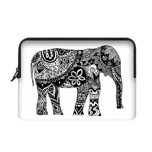 "Yestore Superior Neoprene Elephant Sleeve Case For Macbook Air 11"" And Laptop 10"""