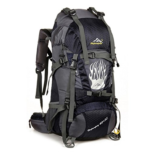 Grand sac de capacité / alpinisme sac à dos / extérieur sac de sport / sac de Voyage-bleu marin 60L