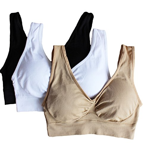cabales-womens-3-pack-seamless-wireless-sports-bra-with-removable-pads-black-white-nude-xxx-large