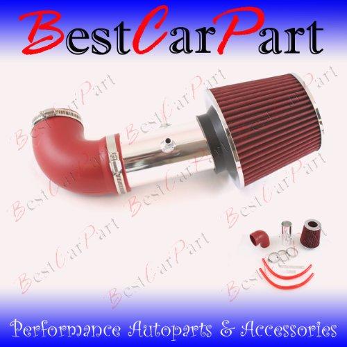 01 02 03 04 Dodge Stratus 2.7 V6 Short Ram Intake Red (Included Air Filter) #Sr-Dg011R