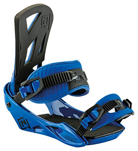 Nitro Snowboards-Attacchi snowboard uomo Staxx BDG '17, Uomo, Snowboardbindung STAXX BDG '17, Blu acceso, M