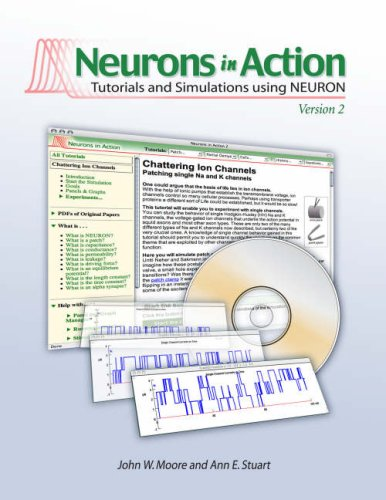 Neurons In Action 2: Tutorials and Simulations using NEURON