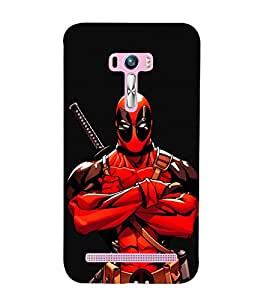 EPICCASE Deadpool terror Mobile Back Case Cover For Asus Zenfone Selfie (Designer Case)