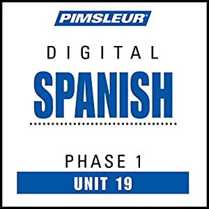 Spanish Phase 1, Unit 19 Audiobook