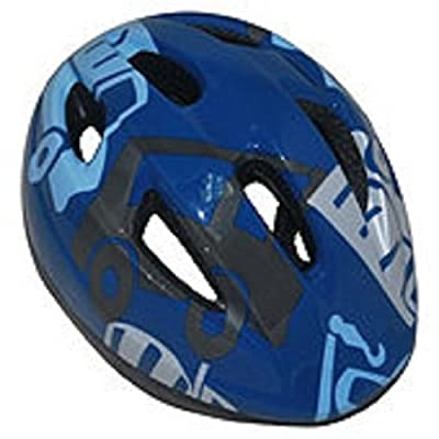 Activ Equipment Kids Cycle Helmet - Boys Blue Size 48-52cm - Outdoor Exercise Safety Gear by ActivEquipment