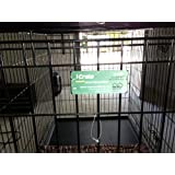 Midwest iCrate Double-Door Folding Metal Dog Crate, 48 Inches by 30 Inches by 33 Inches