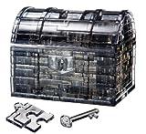 クリスタルパズル 52ピース トレジャーボックス ブラック 50137