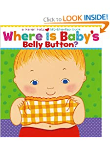 Where Is Baby's Belly Button? A Lift-the-Flap Book (9780689835605)