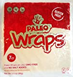 Paleo Wraps, Gluten Free Coconut Wraps, 7-Count
