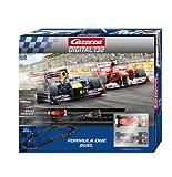 Carrera - Circuito Digital 132 Formula One Duel, 6.9 metros (Ferrari F. Alonso y Red Bull S. Vettel), escala 1:32 (20030162)