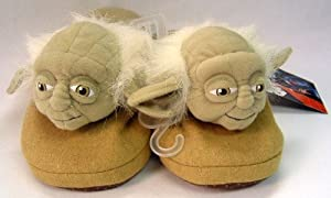 Yoda Slippers Small (7/8 shoe)