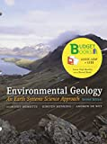 img - for Loose-leaf Version for Environmental Geology (Budget Books) book / textbook / text book