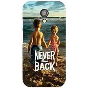 Motorola Moto G (2nd Gen) - Never Look Back Phone Cover