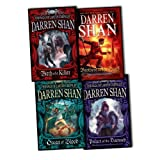 Darren Shan 4 Books Collection Pack Set RRP: £36.46 (The Saga of Larten Crepsley - Birth of a Killer, The Saga of Larten Crepsley (2) - Ocean of Blood, The Saga of Larten Crepsley (3) - Palace of the Damned, The Saga of Larten Crepsley (4) - Brothers t