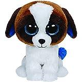 Ty Beanies Duke Brown White Dog - Medium