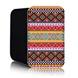 AZTEC Pattern [Pink] Nokia Lumia 820 (L) Shock Resistant Neoprene Mobile Phone Case, Cover, Pouch