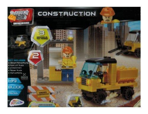 Block Tech - 139 Pc Construction Site Team Set - by Grafix