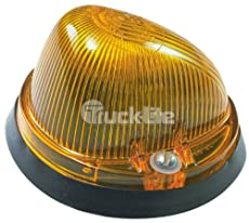 Truck-Lite 1313A Rubber Base Bulb Replaceable Amber