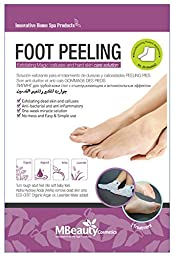 Calluses Peeling Mask for Feet - Get Baby Soft Feet Best Foot Peel Exfoliation Mask -Hard & Dead Skin Remover.