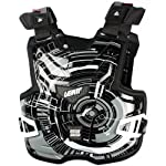 Leatt Adventure Lite Tech Adult Chest Protector Off-Road/Dirt Bike Motorcycle Body Armor - Black / One Size