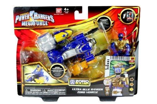 Power Rangers Megaforce Ultra Blue Ranger Zord Vehicle - 1